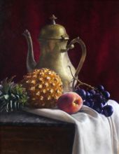 French Teapot with Fruit 33 x 41