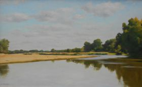 Loirebanks, Late Summer 33 x 55 cm