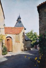 French Village 23 x 31 cm