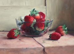 Strawberries 24 x 33 cm