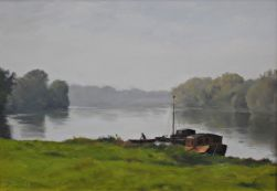 Loire, Fall Light 28.5 x 40.5 cm