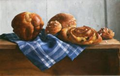 French Pastry 27 x 41 cm